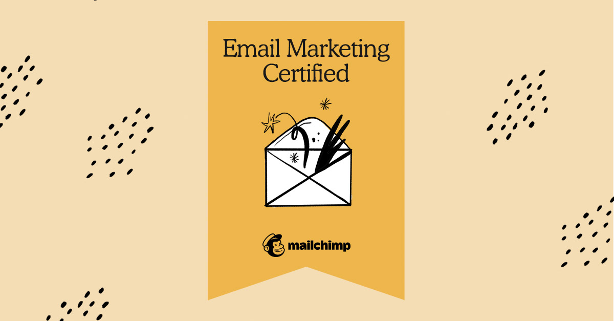 Mailchimp Email Marketing Certified